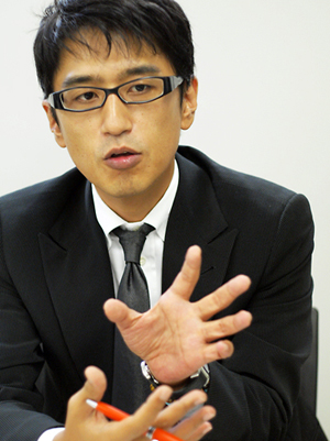 「STSD株式会社 代表取締役 鴻田氏」