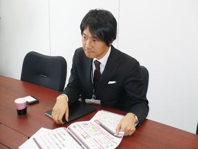 mobion、mobion 3GSの事業に携わっているGNTの武内氏
