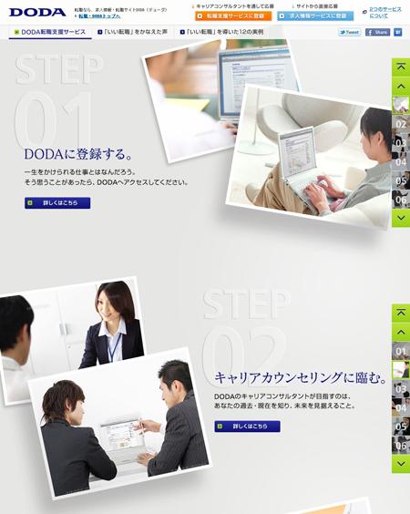 DODAキャンペーンサイト