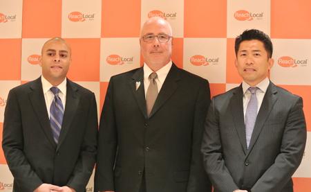 (左から)ロバート・ライト氏、デイビッド・スコット・カーリック氏、保積 弘康氏