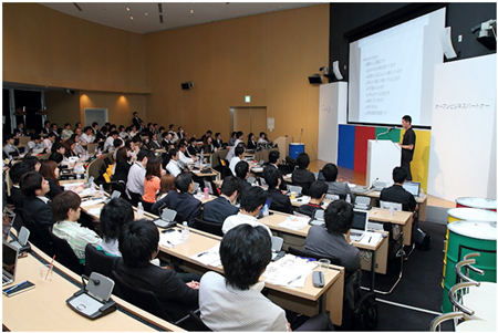「Grow Business with Google - Google AdWords 活用セミナー」の様子