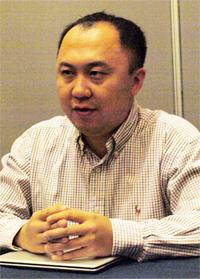 LinedInのビジネスアナリティクス部門のディレクターであるサイモン・チャン(Simon Zhang)氏