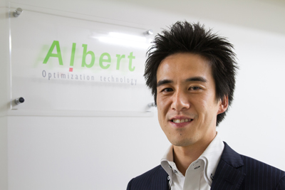ALBERT代表取締役上村崇氏