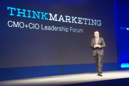 オープニングスピーチを務めた日本IBM 代表取締役社長 マーティン・イェッター氏