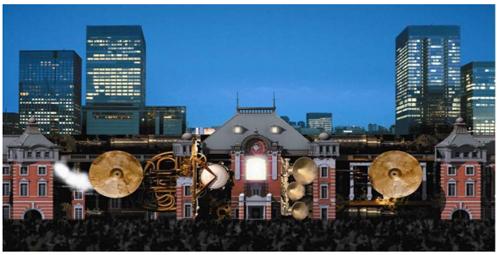 2012年9月22日、23日に東京駅丸の内駅舎前広場にて開催された「TOKYO STATION VISION」(写真:JR東日本)