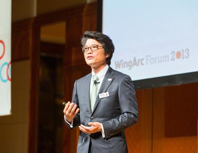 1stホールディングス株式会社 兼 ウイングアーク株式会社 代表取締役社長 内野 弘幸氏