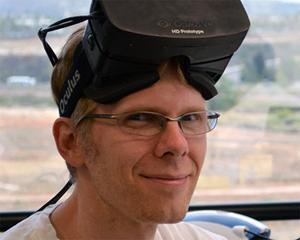 著名なゲームクリエイター、ジョン・カーマック氏もOculus Riftに惚れ込んだひとり
