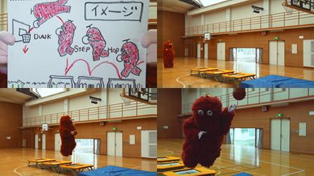バスケ、サッカー、走り幅跳び、跳び箱、ビーチバレーに挑戦する