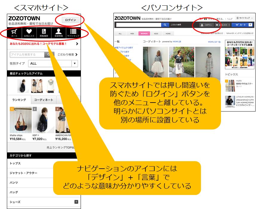 de0e5cd3d1c ZOZOTOWN」TOPページに見る、スマホECサイトユーザビリティの極意 ...