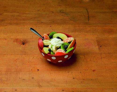 フルーツサラダBefore