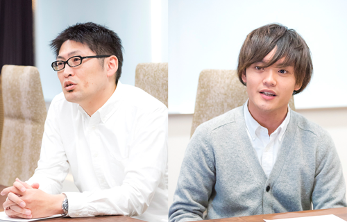 左から株式会社トモノカイ 学生メディア部門 部門長補佐 北野 博俊氏、同部門 野口 裕樹氏、同部門