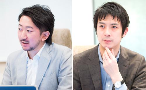 左からTwitter Japan株式会社 オンラインセールス アカウントマネージャー 高井 陽介氏、オンラインセールス アカウントエグゼクティブ 中村優氏