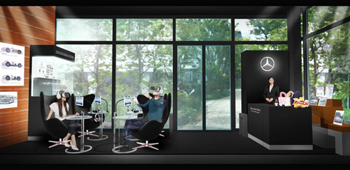 Mercedes-Benz Lifestyle Loungeイメージ