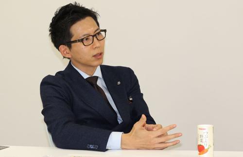 カゴメ株式会社 マーケティング本部 通販事業部 原浩晃氏