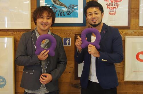 左:C Channel株式会社 マーケティング 鈴木 精介氏 右:Facebook Client Partner , Audience Network APAC Japan 鈴木 哲郎氏