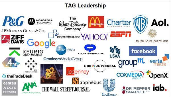 IABの透明性を担保する仕組みには、既にこれだけの企業・団体が参画している(2017年6月)