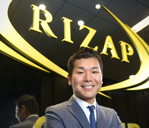 RIZAPグループ株式会社 代表取締役 瀬戸 健氏