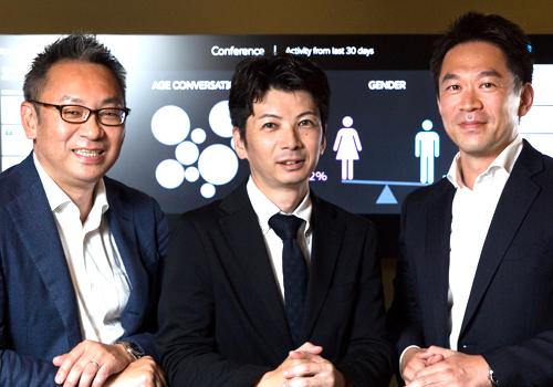 (左)田中 裕一氏 (中央)今村 和広氏 (右)山下 貴宏氏