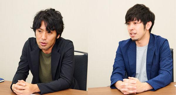 (左)ミロゴス株式会社 代表取締役 高村圭氏(右)ミロゴス株式会社 取締役 新垣遥氏