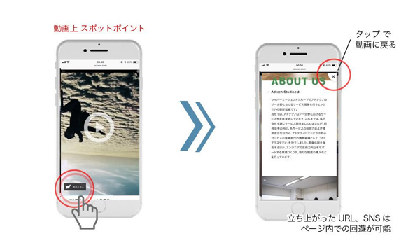 Linkable Videoイメージ