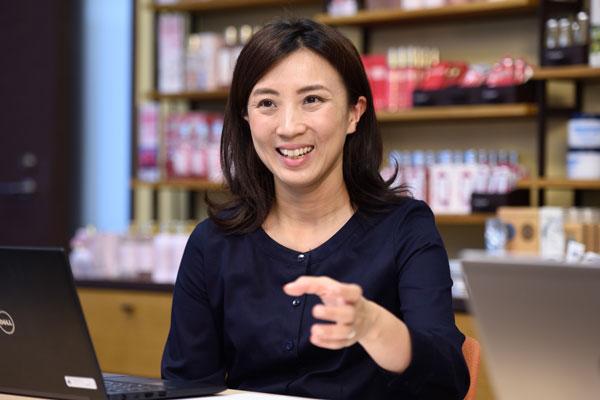 ロクシタンジャポン株式会社 デジタルマーケティング本部 シニアマネージャー 安倍もと子氏