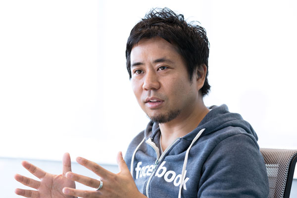 Facebook Japan Maneging Director 長谷川晋氏