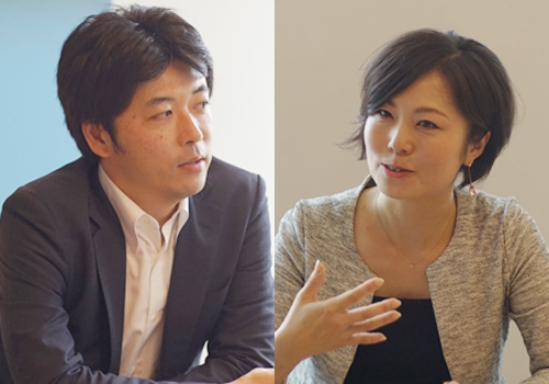 左からAnaplanジャパン カントリーマネージャ 中田淳氏、マーケットワン・ジャパン マネージングディレクター 山田理英子氏
