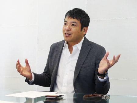 株式会社VOYAGE GROUP 代表取締役社長兼CEO 宇佐美進典氏
