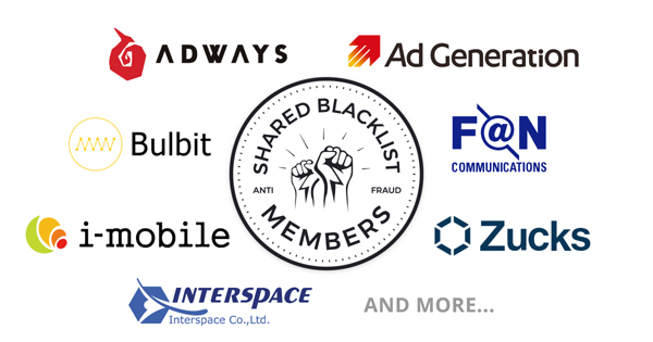 「SHARED BLACKLIST」加盟事業者の一部
