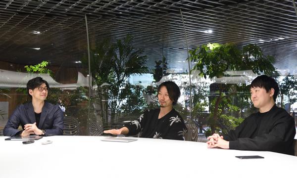 写真左から、ZOZOテクノロジーズ VP of AI driven business   イノベーション推進部 部長/アラタナ 取締役 野口竜司氏ZOZOテクノロジーズ CINO 金山裕樹氏アラタナ 代表取締役社長 濱渦伸次氏