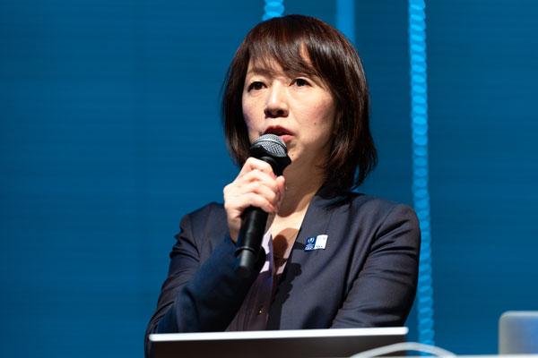 日本電気株式会社 IMC本部 本部長代理 東海林直子氏