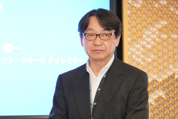 Twitter Japan株式会社 マーケット・リサーチ ディレクター 岡野 雅一氏