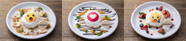 Facebook Sweet Pancake(フェイスブック・スイート・パンケーキ)3種