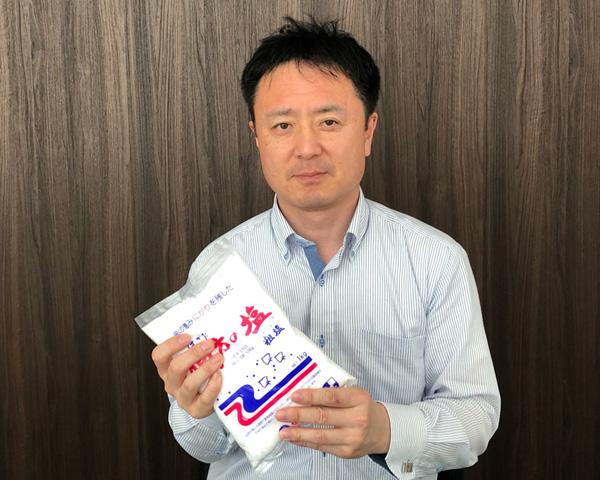伯方塩業株式会社 プロモーショングループ チーフ 井上純平氏