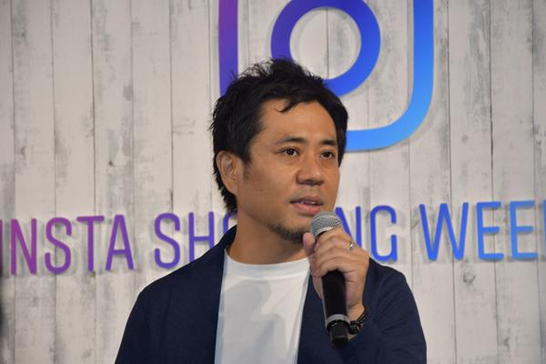 フェイスブック ジャパン株式会社 代表取締役 長谷川 晋氏
