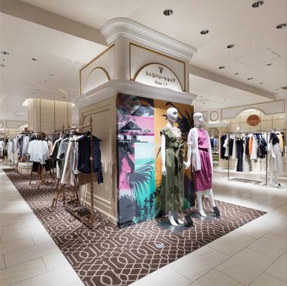 伊勢丹新宿店 ストロベリーショップは1号~7号の小さいサイズの女性のためのショップ