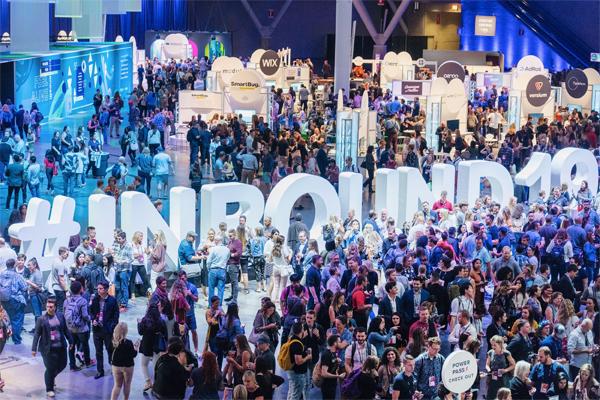 会場の様子。業界全体をより良くしていくことを目的に開催する本イベントでは、HubSpotの名前やロゴを前面に出すことはあえてしないという。(写真提供:HubSpot/INBOUND2019、以下同)