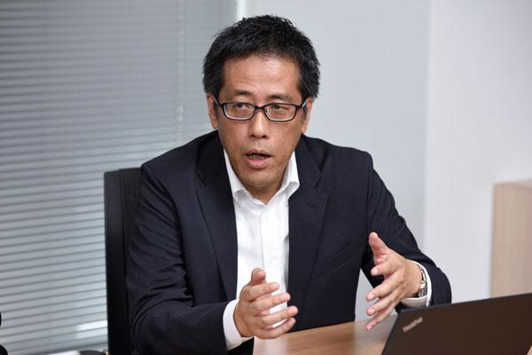 ビズネット株式会社 取締役 サービスイノベーション本部 本部長 森下英治氏