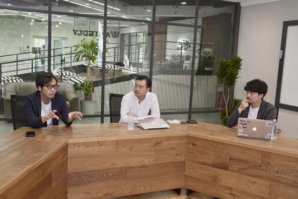写真左から順に:藤村能光(サイボウズ株式会社)、加藤恭輔(株式会社メドレー)、小池弾(ウォンテッドリー株式会社)