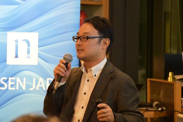 ニールセンシンガポール 辻本悟史氏 神戸大学准教授、京都大学准教授を経て2007年よりニールセンに参画。日本を含むアジア太平洋地域を中心に、コンシューマー・ニューロサイエンスの事業展開に幅広く貢献。