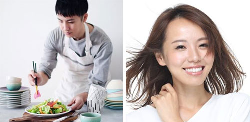 監修インフルエンサーの例(写真左)@utoshさん 料理家/フードスタイリスト フォロワー数:13.7万人(2020年6月9日現在)(写真右)@i_am_ayakomatsuさん ライター/看護師 フォロワー数:9.9万人(2020年6月9日現在)
