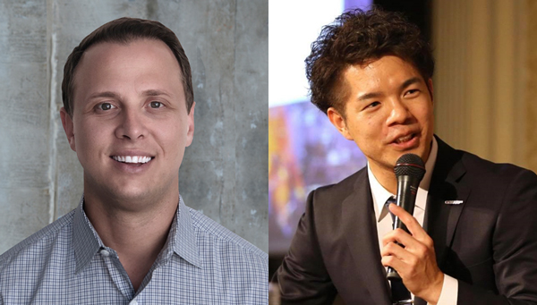 (左)GumGum  SVP, Global Commercial Development Adam Schenkel氏(右)RTB House Japan Head of Sales 高橋 君成氏
