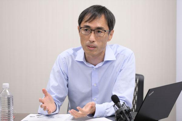 サトー グローバル営業本部 マーケティング統括部 課長 江成太一氏