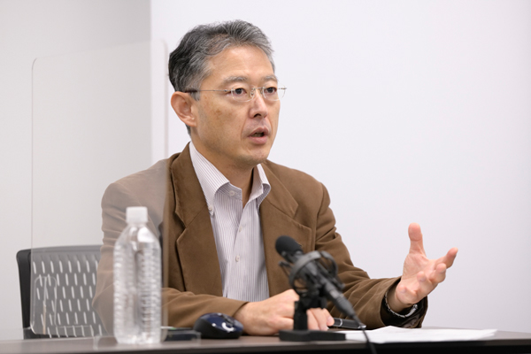 UQコミュニケーションズ株式会社 事業開発部 副部長 データ経営推進グループマネージャー 水谷 晃氏