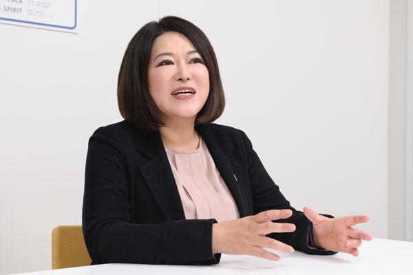 栃木サッカークラブ マーケティング戦略部長 江藤美帆氏
