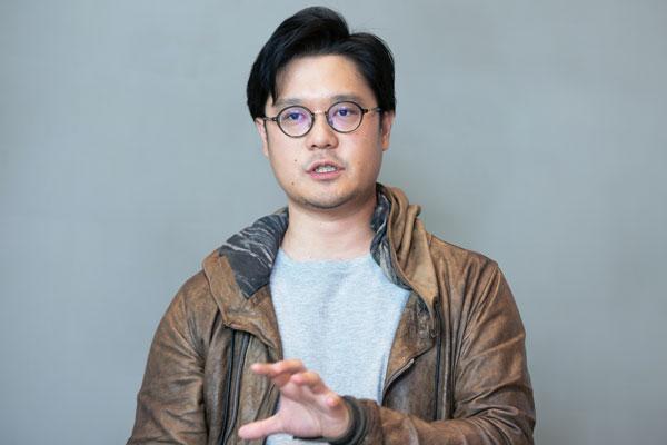 ▼LINE マーケティングソリューションカンパニー カンパニーエグゼクティブ 菅野圭介氏