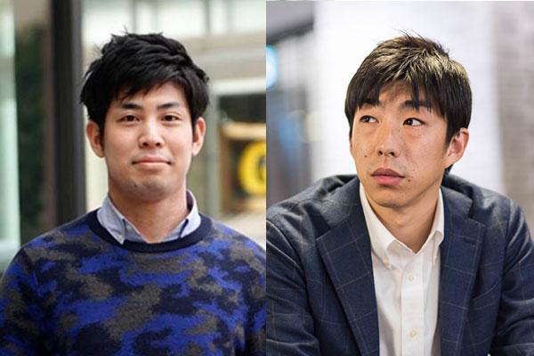 (左)ユーザベース 執行役員 B2B SaaS 事業 マーケティング&ブランディング担当 酒居 潤平氏(右)才流 代表取締役社長 栗原 康太氏