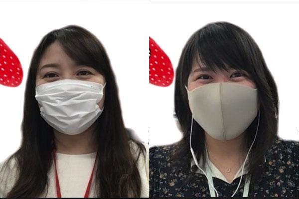 (写真左から)阪神梅田本店 プロモーション企画・宣伝部 溝口佳代子氏、安田みなみ氏