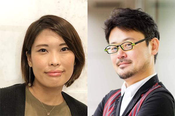 (左)株式会社Project8(集英社子会社) 中谷 みどり氏 (右)株式会社集英社 石塚 雅延氏