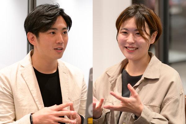 (左から)ホットリンク プランニング部 部長 増岡宏紀氏、ホットリンク コンサルティング部 リーダー 秋山幸世氏